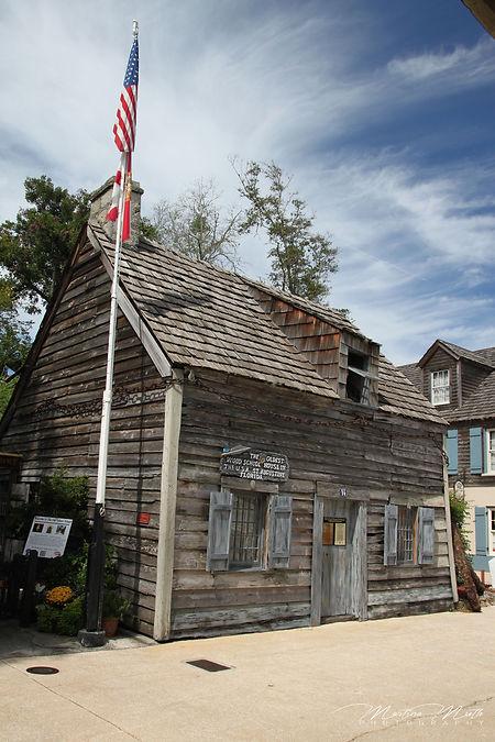 Oldest Wood School House St. Augustine