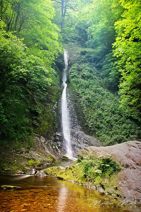 Lydford Gorge White-Lady Wasserfall
