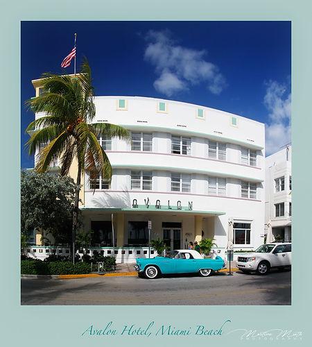 Miami Beach, Ocean Drive, Hotel Avalon