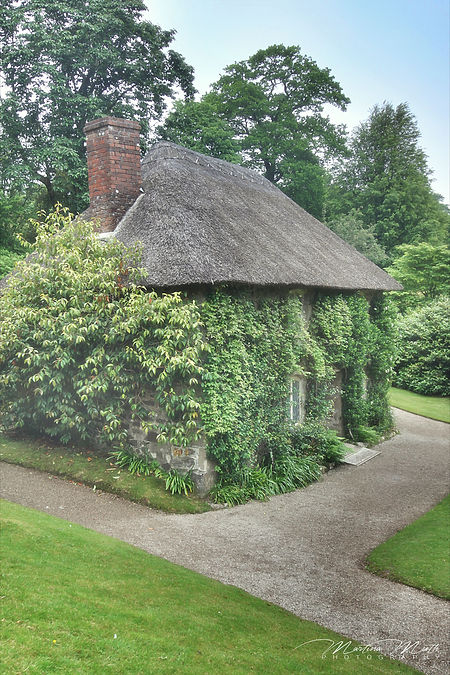 Thatched Cottage, Lanhydrock Garden
