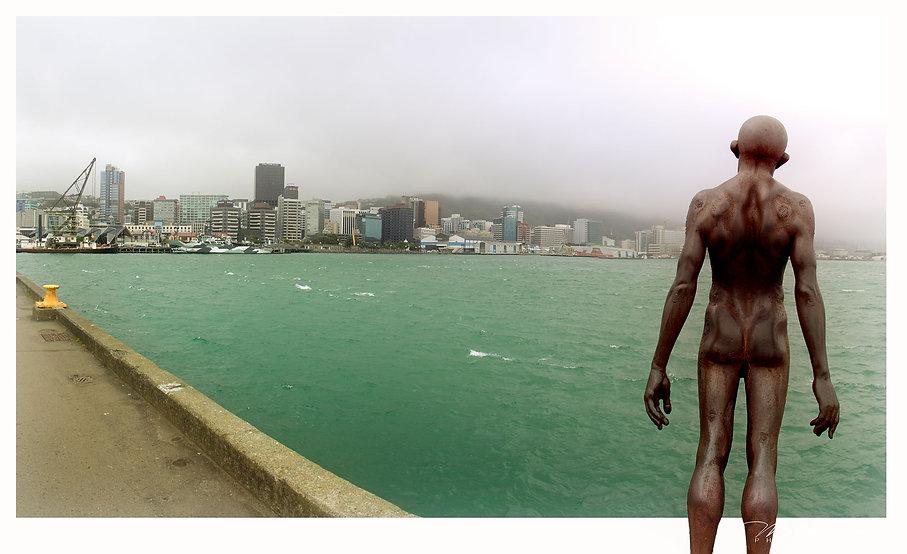 Solace of the Wind - Skulptur am Hafen von Wellington