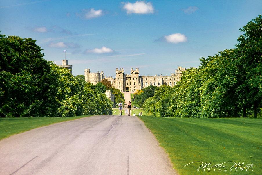 Windsor Castle The Long Walk