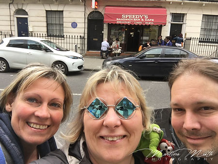 Sherlock Filming Location - Speedy's Cafe
