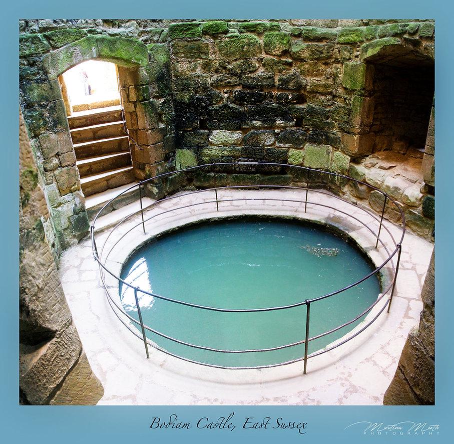 Bodiam Castle Brunnen