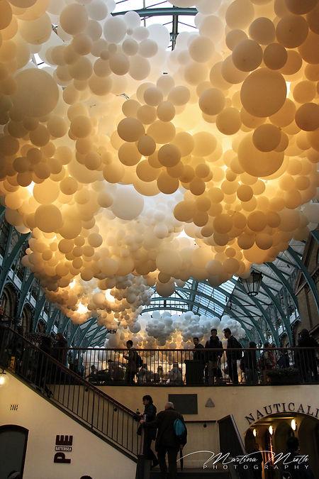 Balloons in Covent Garden
