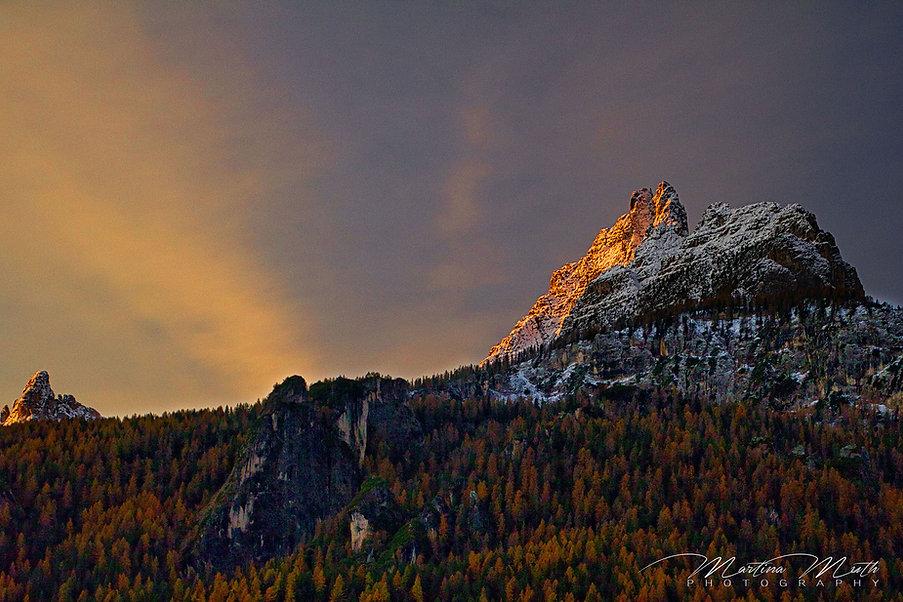 Dolomiten Sonnenaufgang