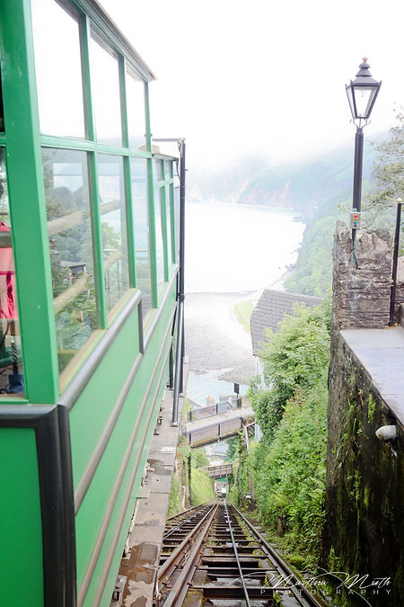 Lynton and Lynmouth Cliff Railway i