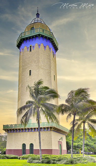 der Alhambra Water Tower in Coral Gables