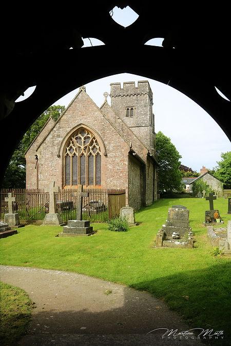 Sherlock Filming Location - der Friedhof von St. Hilary, Wales