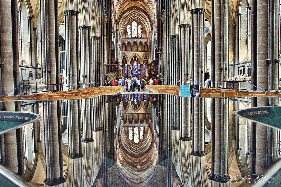 Taufbecken Salisbury Cathedral