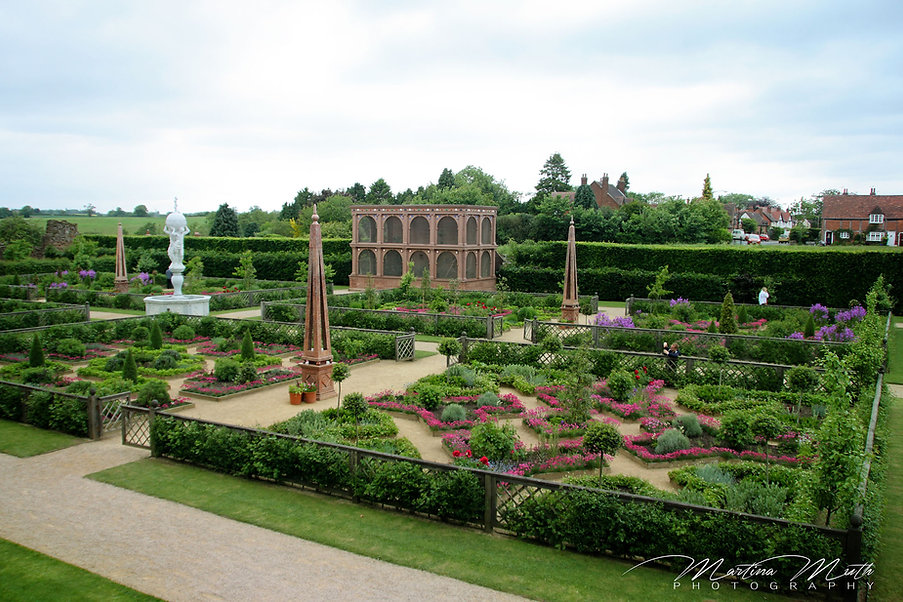 Elisabethanischen Knotengärten, Kenilworth Castle
