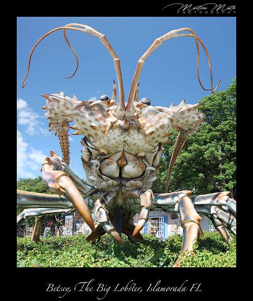 Betsey, The Big Lobster, Islamorada