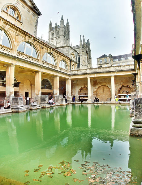 das Römische Bad in Bath