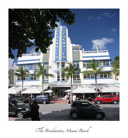Miami Beach, Ocean Drive, The Breakwater