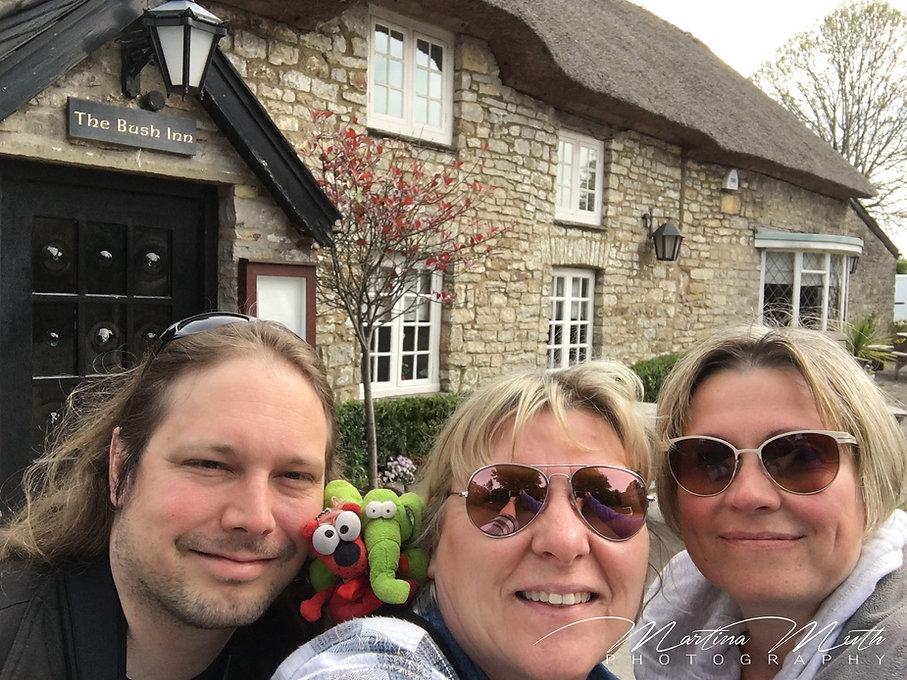 Sherlock Filming Location - The Bush Inn in St. Hilary, Wales