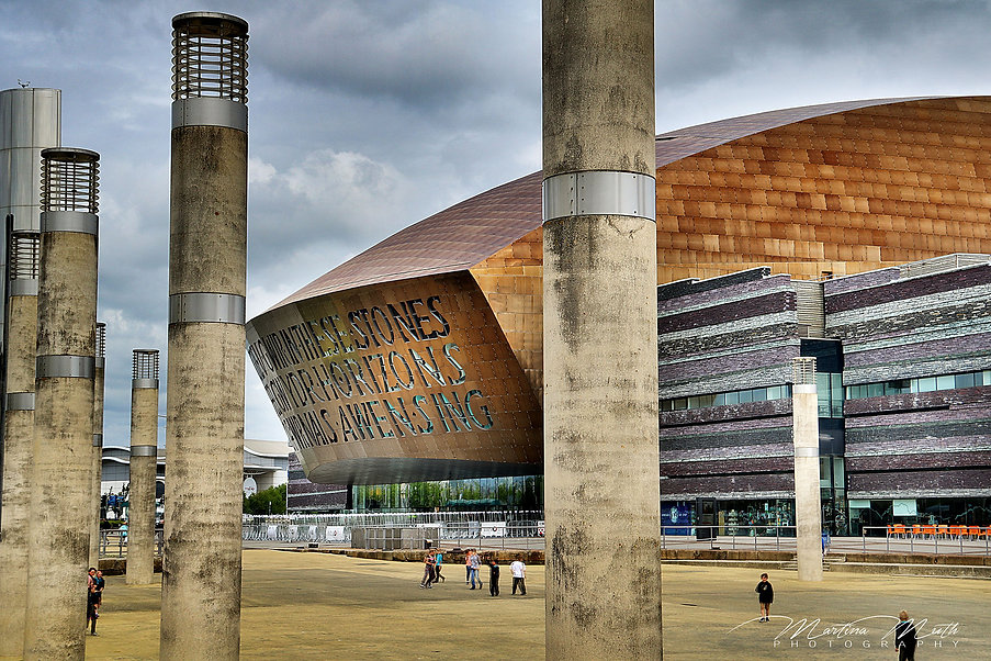 Wales Millennium Centre in Cardiff