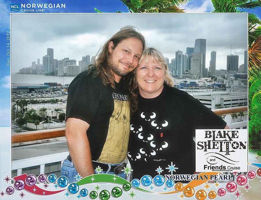Blake Shelton Cruise Norwegian Pearl