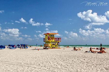 Miami Beach Lifeguard Cabin