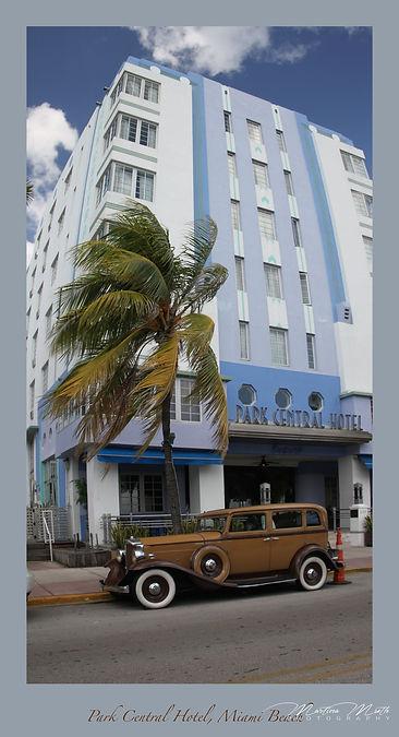 Miami Beach, Ocean Drive, Park Central Hotel