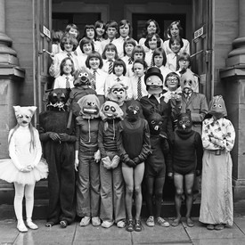 Costumes at the Music Festival, March 1978
