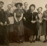 Diploma Day, Edinburgh College of Art, 1951.