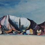 Cubist mining landscape, 1943-7