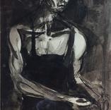 Kneeling miner working III, 1943-7