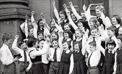 Central District School P4 Choir, Perth Music Festival c.1961