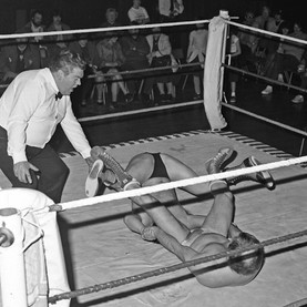 Wrestling in City Hall, 20th April 1983