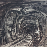 Tunnel with twisted girders, 1943-7