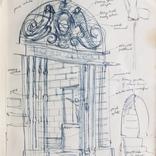 Sketchbook from travels in Spain