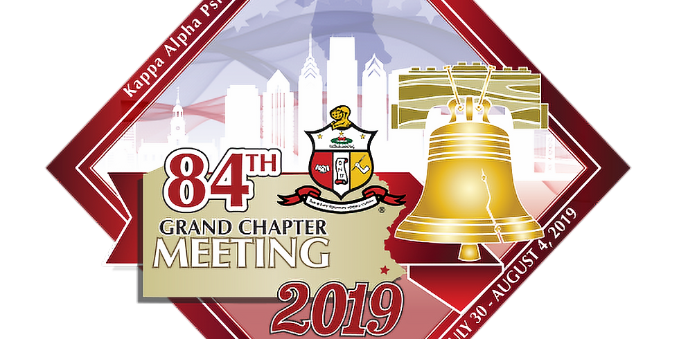 Kappa Alpha Psi Fraternity, Inc. 84th Grand Chapter Meeting and Conclave