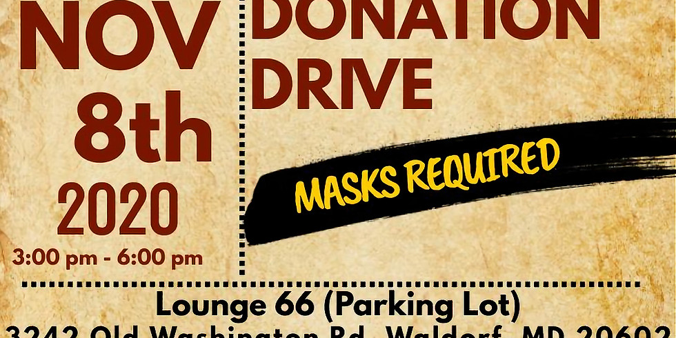 National Pan-Hellenic Council of Southern Maryland Drive By Donation Drive