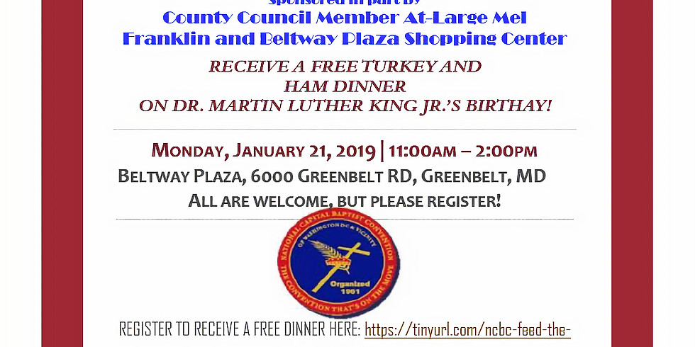 """MLK """"A DAY ON"""" to Feed the Community"""