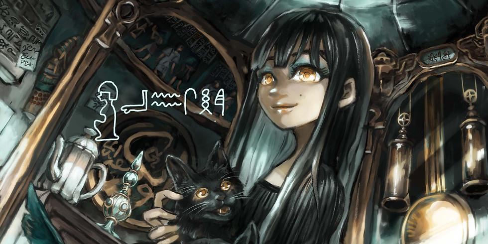 第4回anSheイラストコンテスト「anShe cat」受賞作品展示