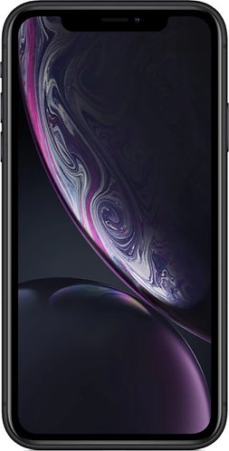 Apple iPhone XR (Black, 64 GB) (Includes EarPods, Power Adapter)