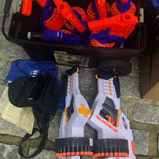 Guns Ready to go