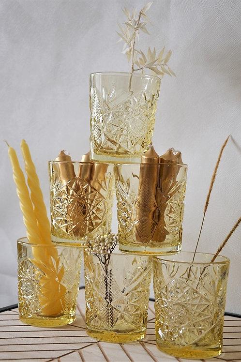 Glas Hobstar - Yellow