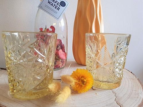 Glas Hobstar Yellow