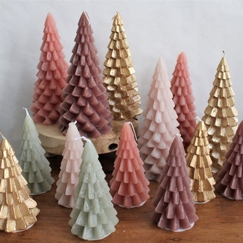 Kaarsen - Kerstboom
