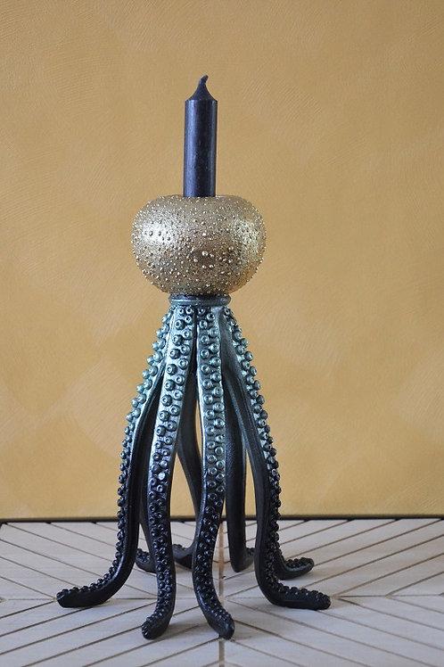 Kandelaar 'Golden Octopus'