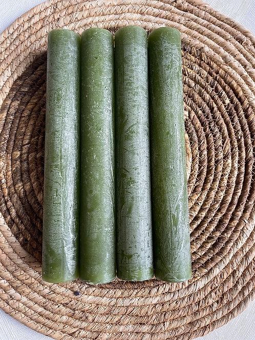 Kaarsen XL - Groen
