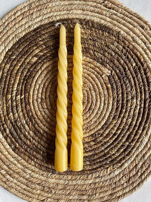 Kaarsen Swirl - Yellow