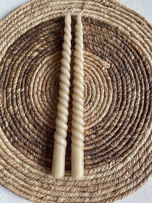 Kaarsen Swirl - Sand