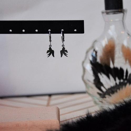 Oorbel Zwaluw