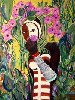 Mädchen aus dem Tal des Omo