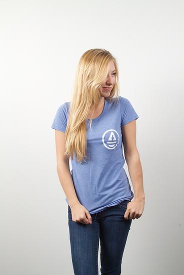 Classic Blue womens T-shirt