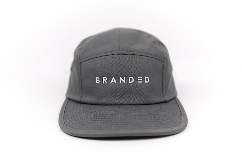 Branded 5 Panel Hat