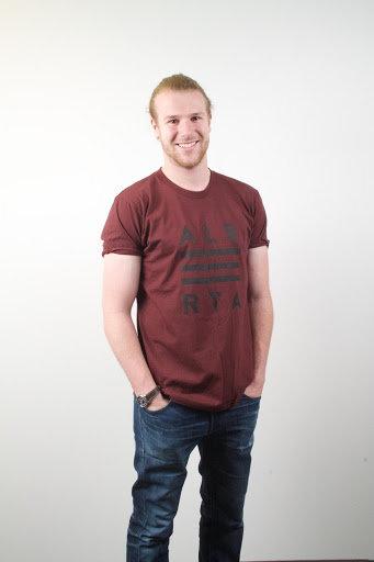 Alberta Prairies Burgundy T-Shirt Unisex