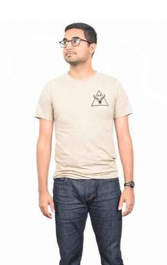 Cervidae Tan T-Shirt